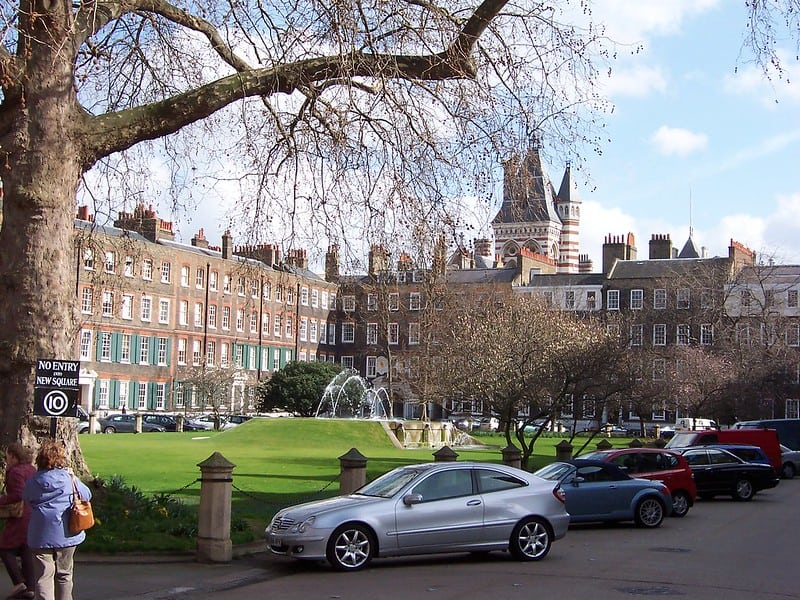 Photo of New Square, Lincoln's Inn by Loz Pycock