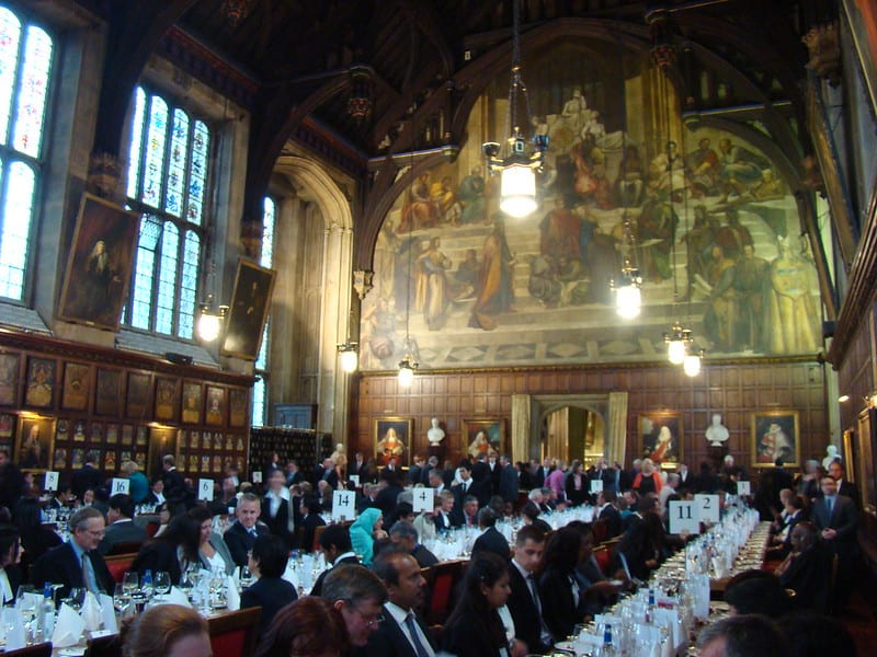 photo of Barristers Dining at Lincoln's Inn by J D Mack