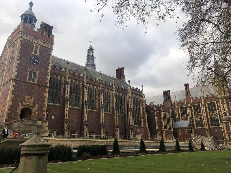Lincoln's Inn Great Hall and Library by Patrick Cannon
